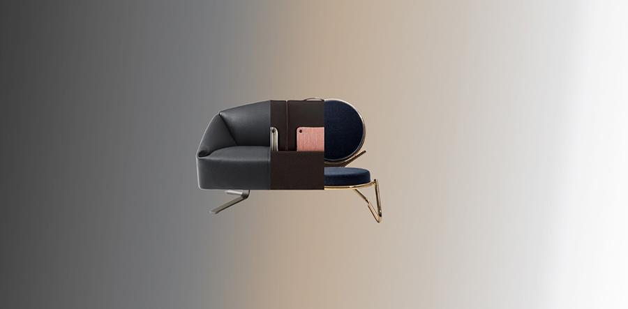 Collage de tres diseños de tres diseñadores diferentes