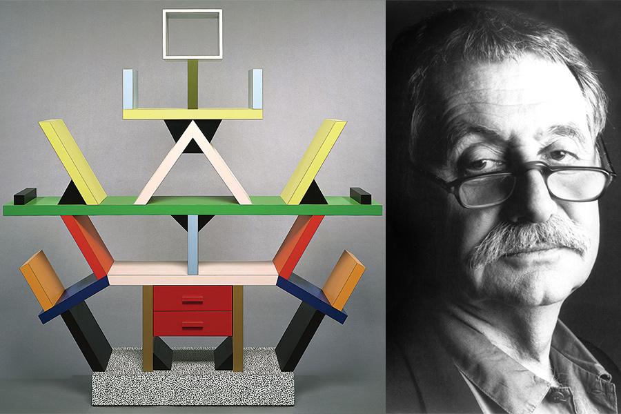Arquitecto y diseñador Ettore Sottsass.