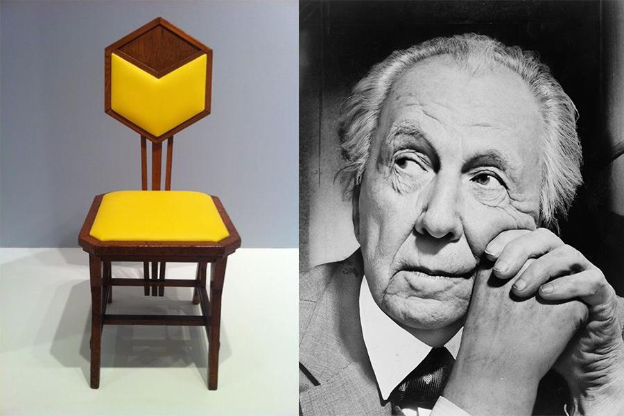 Arquitecto Frank Lloyd Wright.