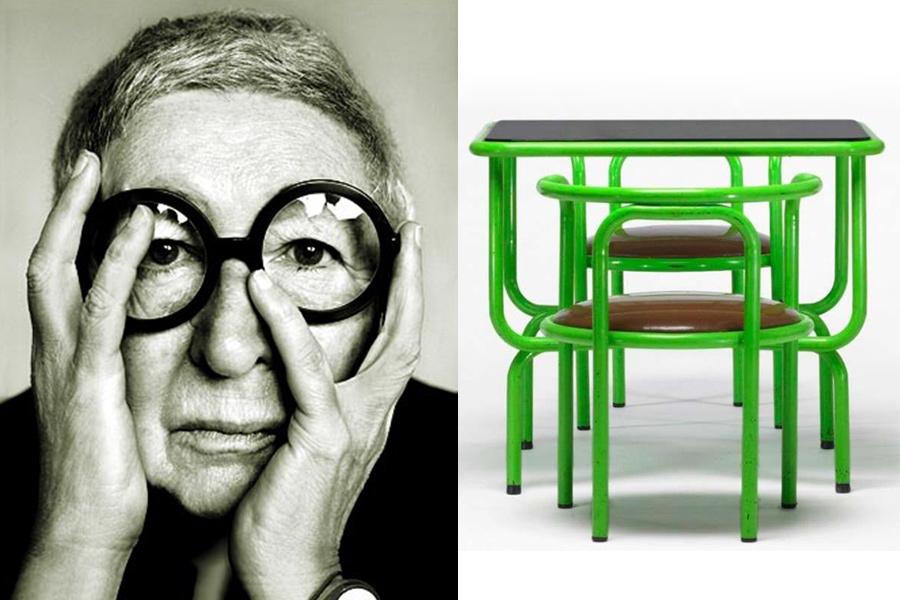 Arquitecta y diseñadora Gae Aulenti.