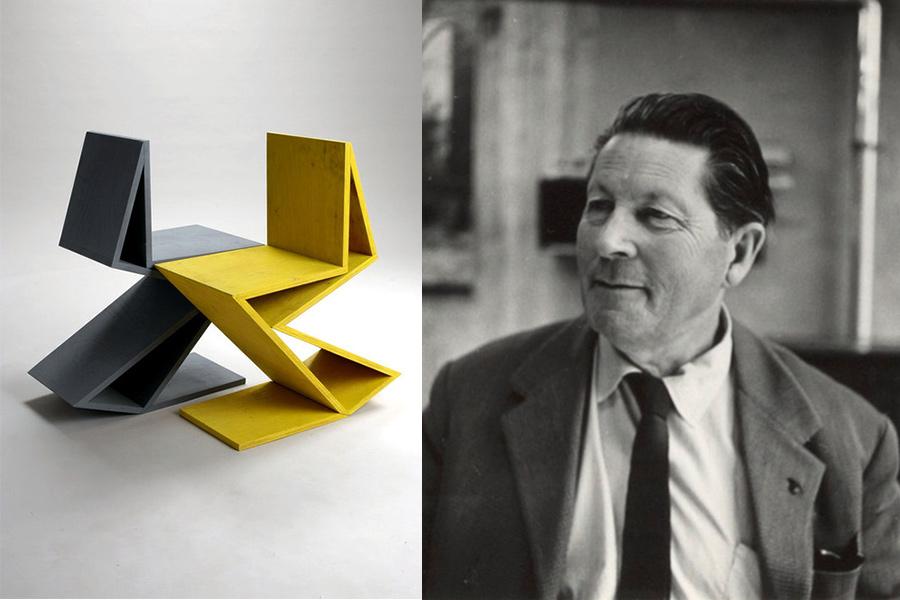 Arquitecto y diseñador Gerrit Rietveld.