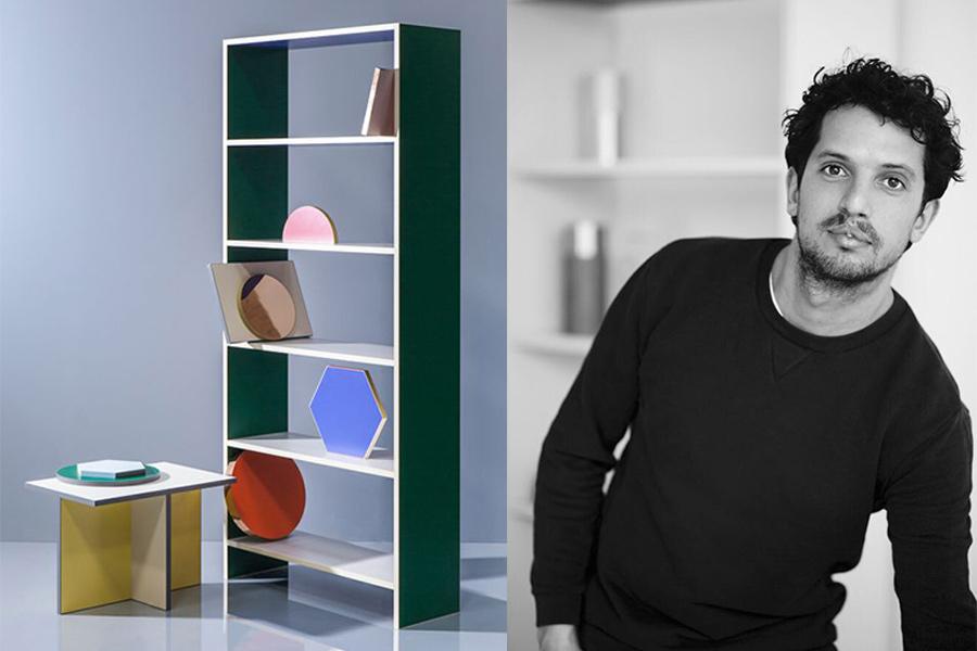 Diseñador Lex Pott y parte de la colección Chroma (2015).
