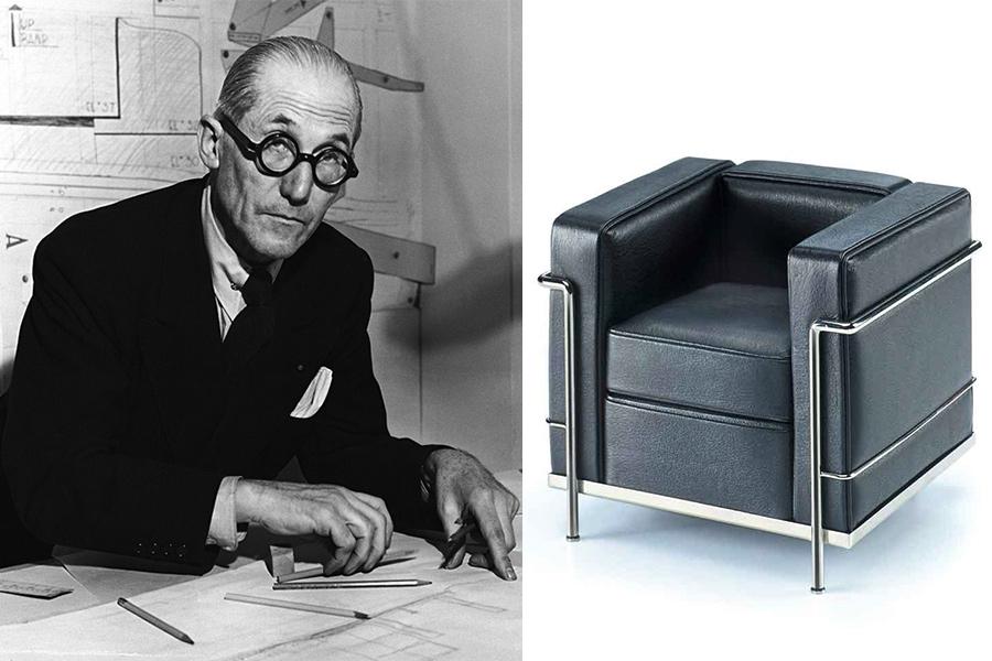 le corbusier arquitecto urbanista dise ador y artista francia. Black Bedroom Furniture Sets. Home Design Ideas