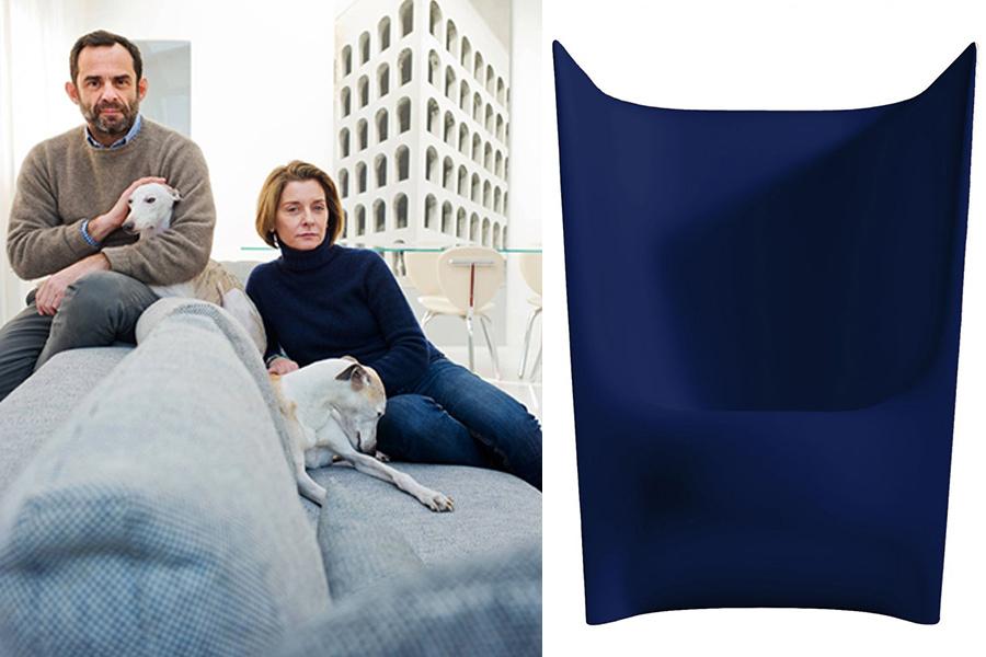 Designers Ludovica y Roberto Palomba