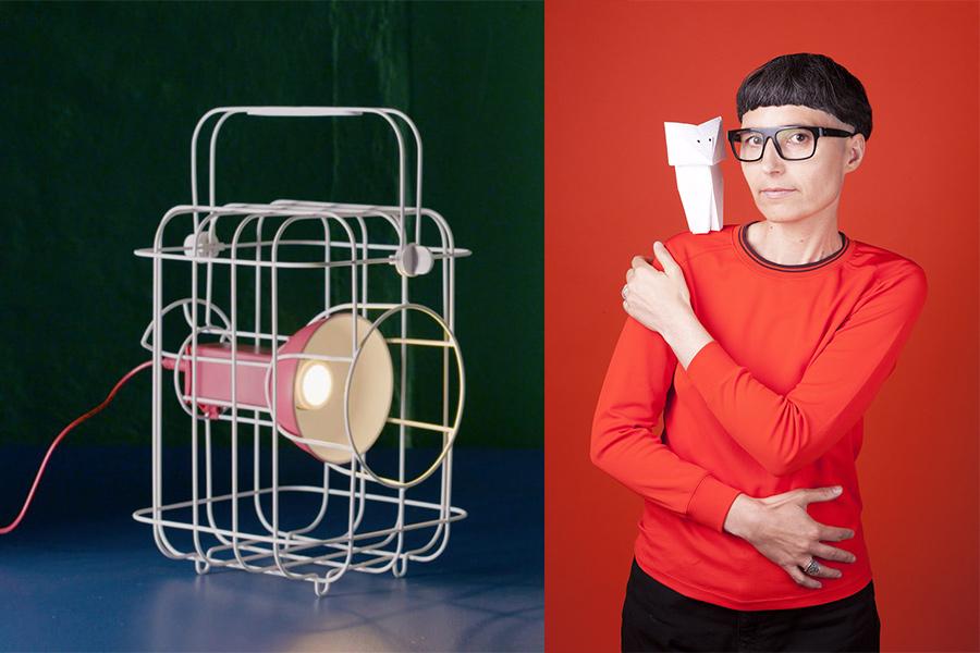 Designer Matali Crasset.