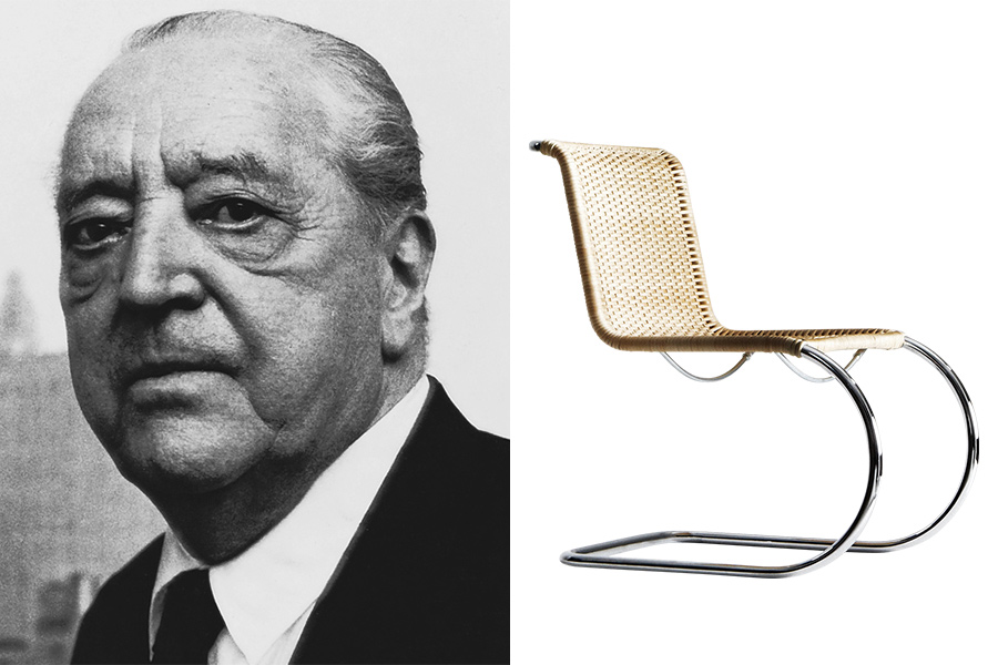 Arquitecto Mies van Der Rohe.