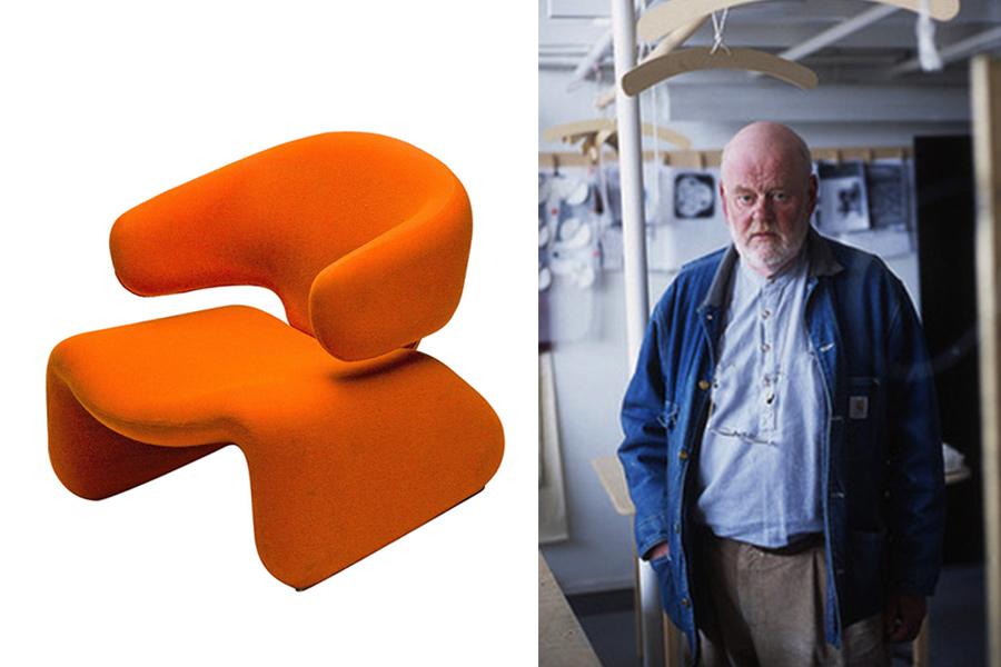 Designer Olivier Mourgue.
