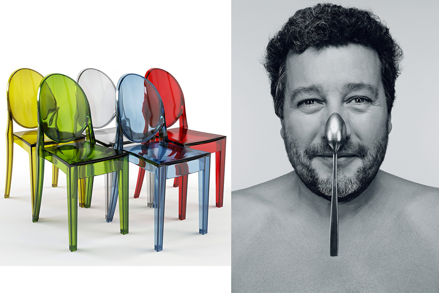Diseñador Philippe Starck.