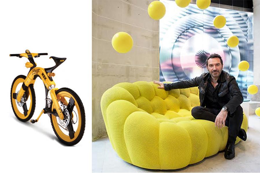 Diseñador Sacha Lakic.