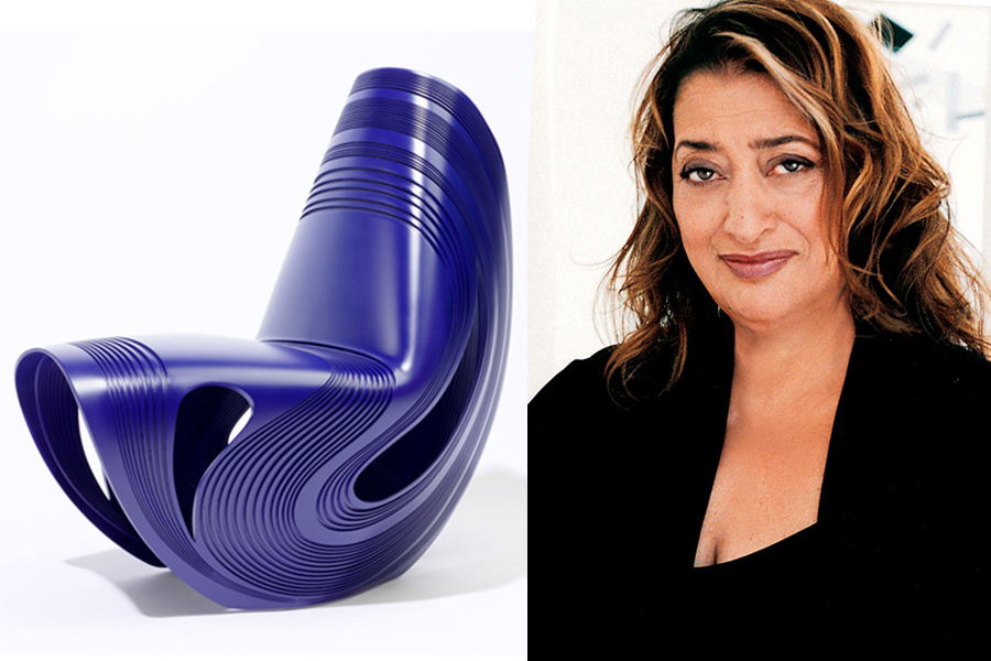 Arquitecta Zaha Hadid.
