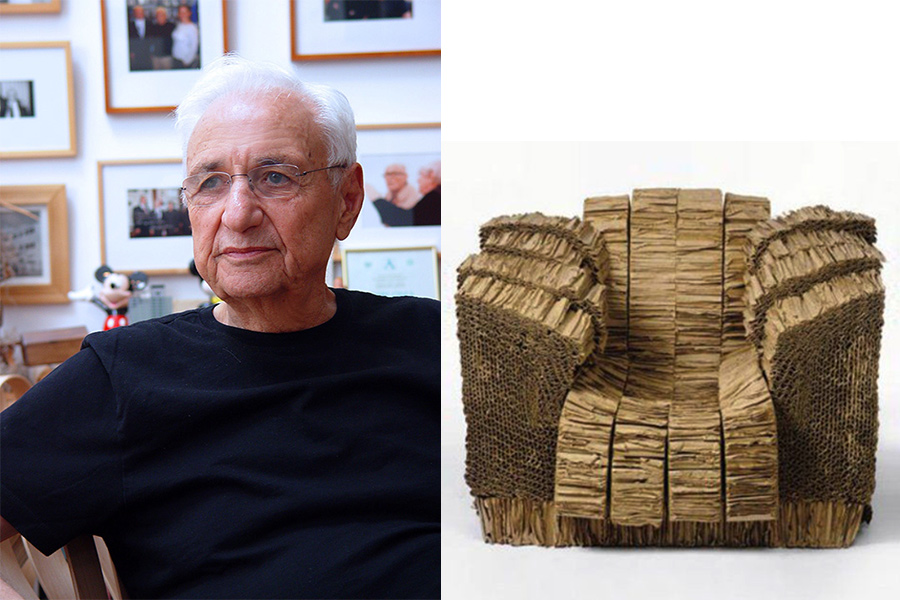 Arquitecto y diseñador Frank Gehry.