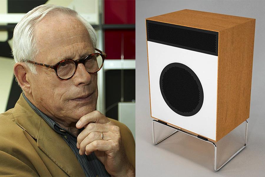 Diseñador industrial Dieter Rams.