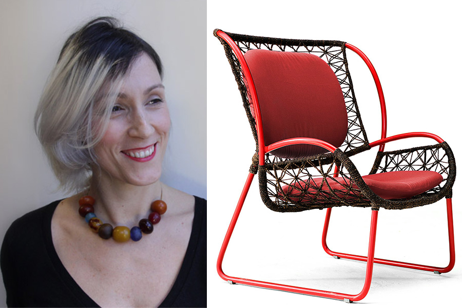 Designer Federica Capitani.