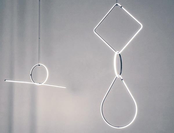 Colección de iluminación de M.Anastassiades presentada en la Semana del Mueble de Milán 2017.