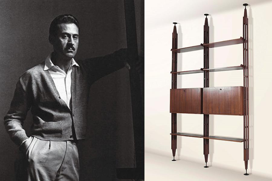 Designer Franco Albini.
