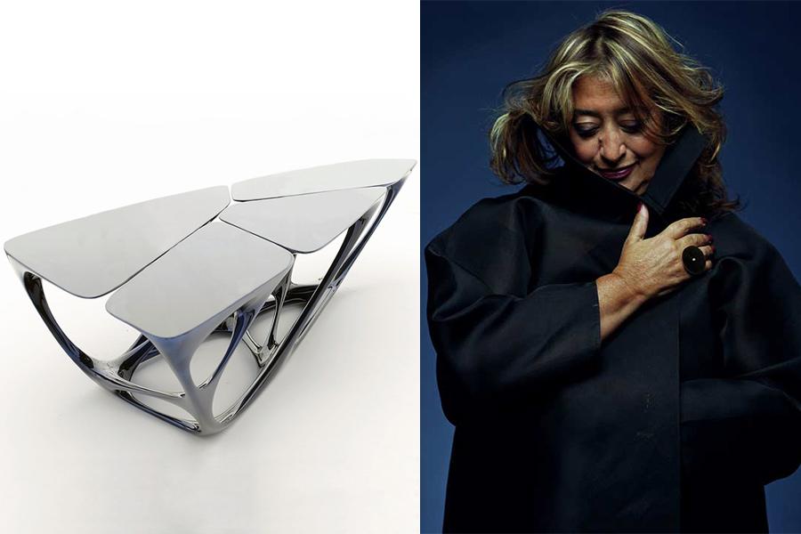Designer Zaha Hadid