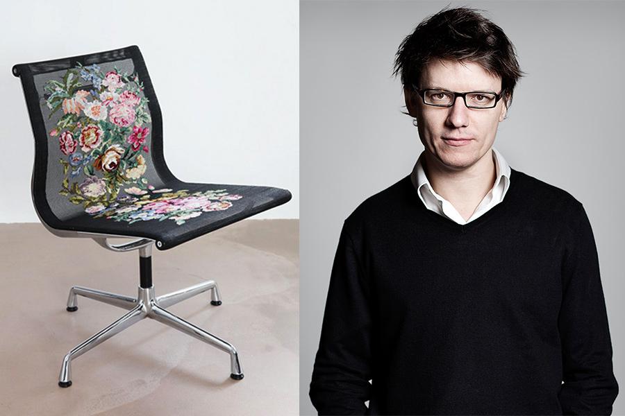 Designer Alvaro Catalán de Ocón.
