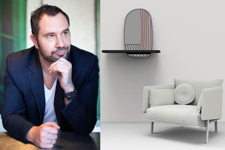 Designer Alain Gilles.