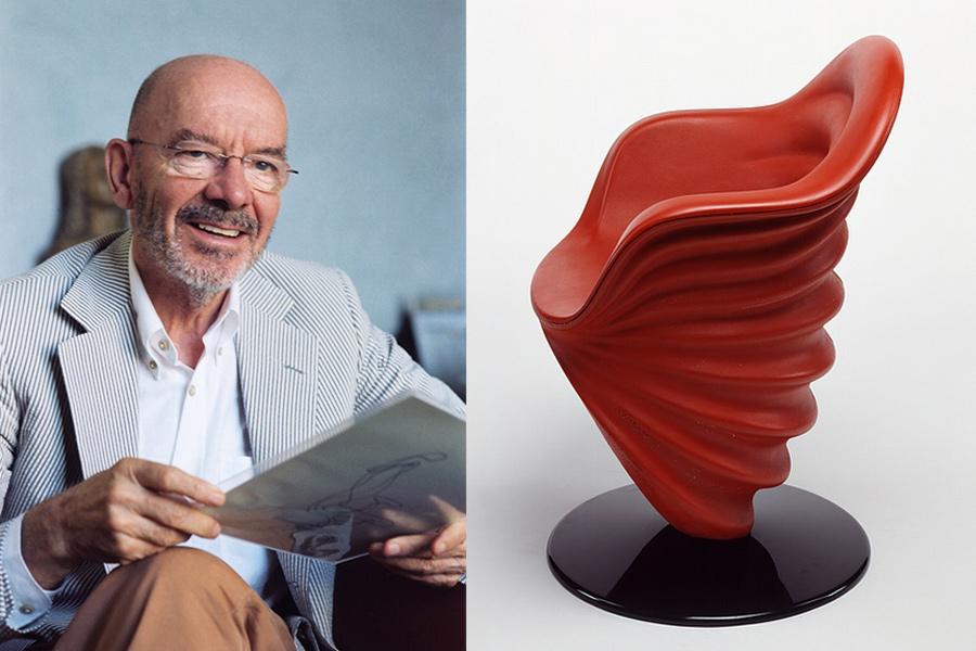 Designer Mario Bellini.