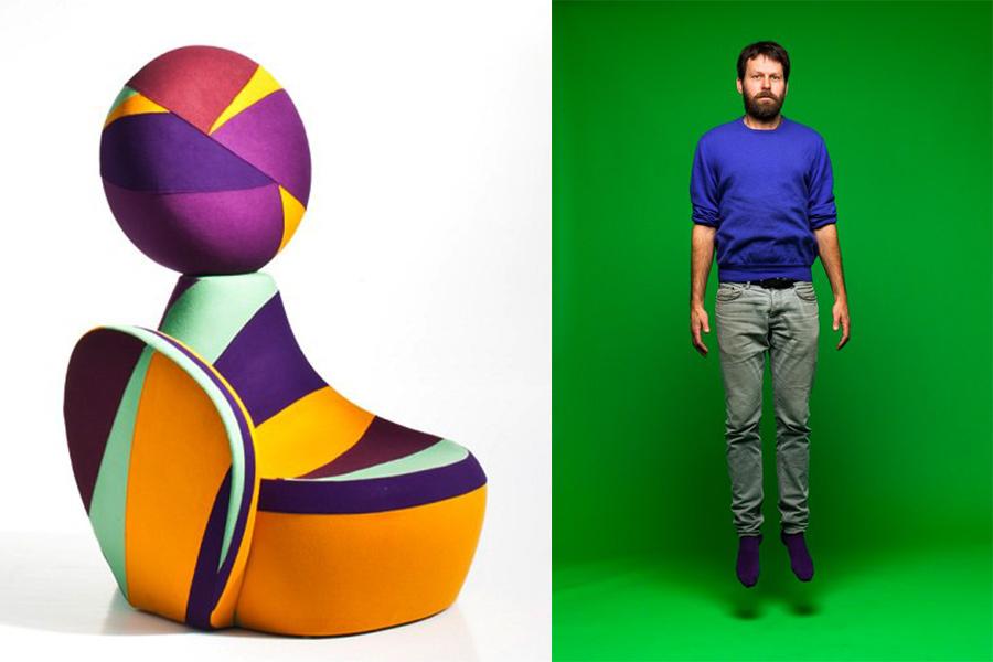 Designer Martino Gamper.