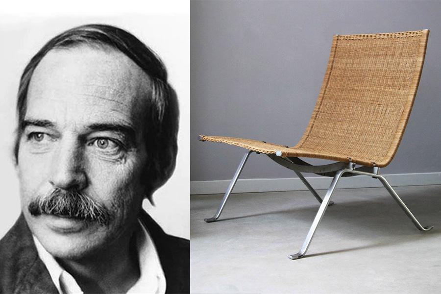 Designer Poul Kjaerholm.
