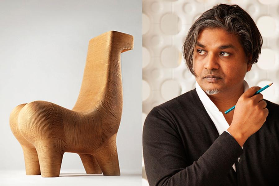 Designer Satyendra Pakhalé.