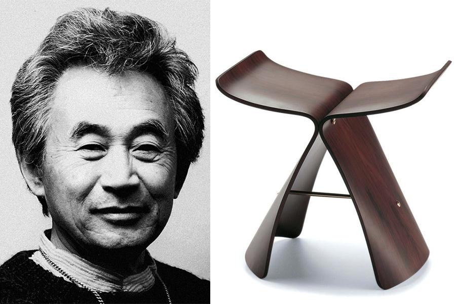 Designer Sori Yanagi.