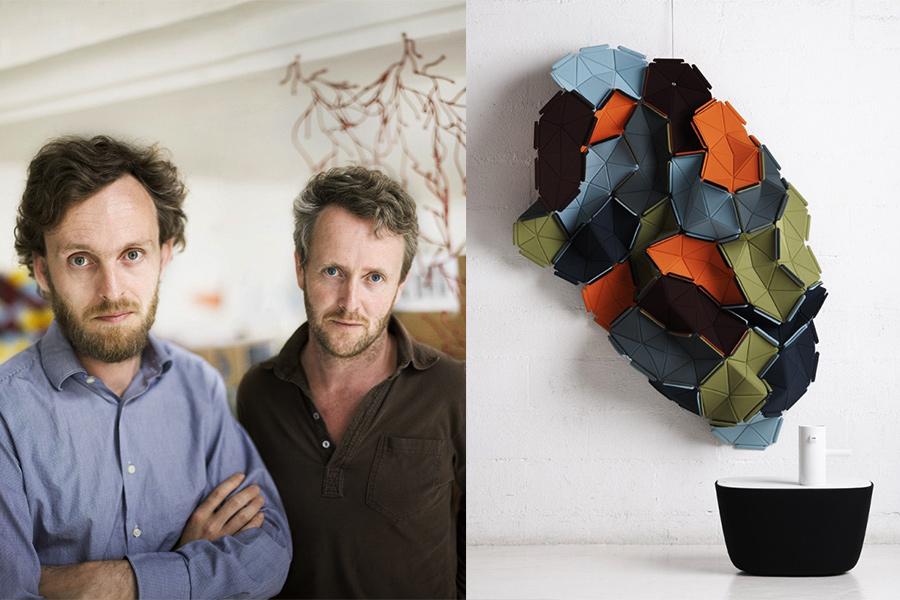 Diseñadores Ronan & Erwan Bouroullec.