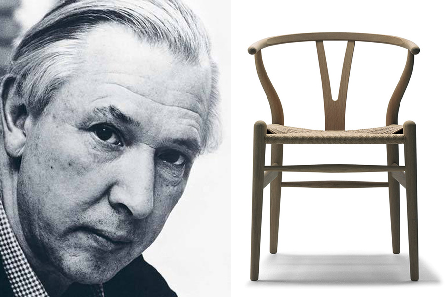 hans j wegner arquitecto y dise ador de mobiliario dinamarca. Black Bedroom Furniture Sets. Home Design Ideas