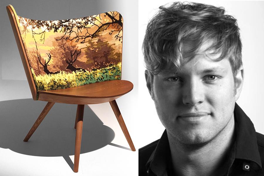 Designer Johan Lindstén.
