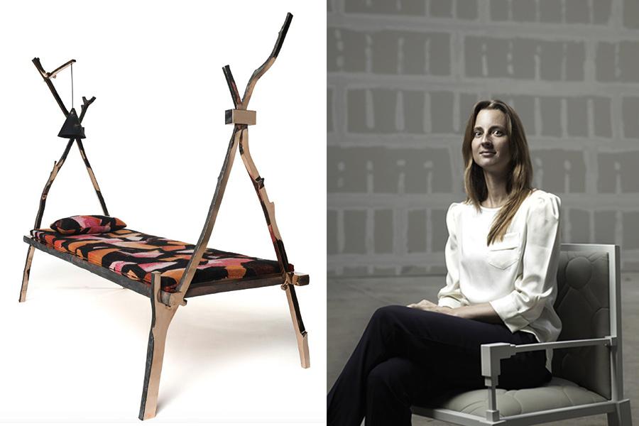 Designer Kiki Van Eijk.