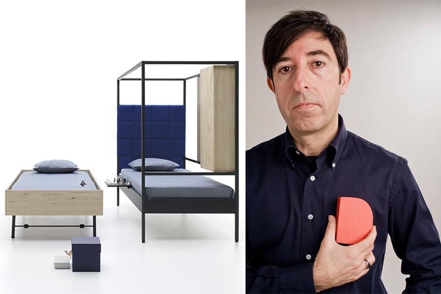 Designer Carlos Tíscar.