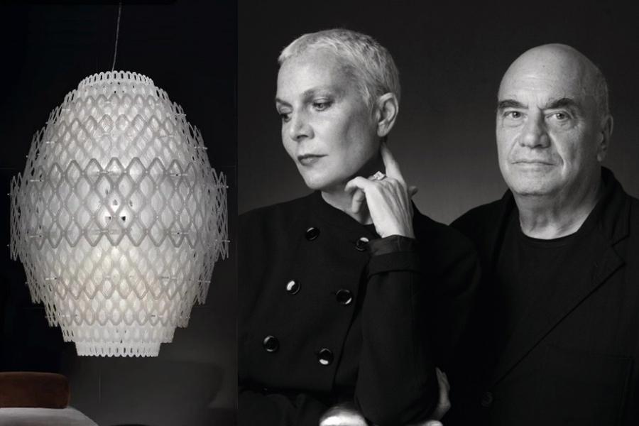 Designers Doriana y Massimiliano Fuksas.