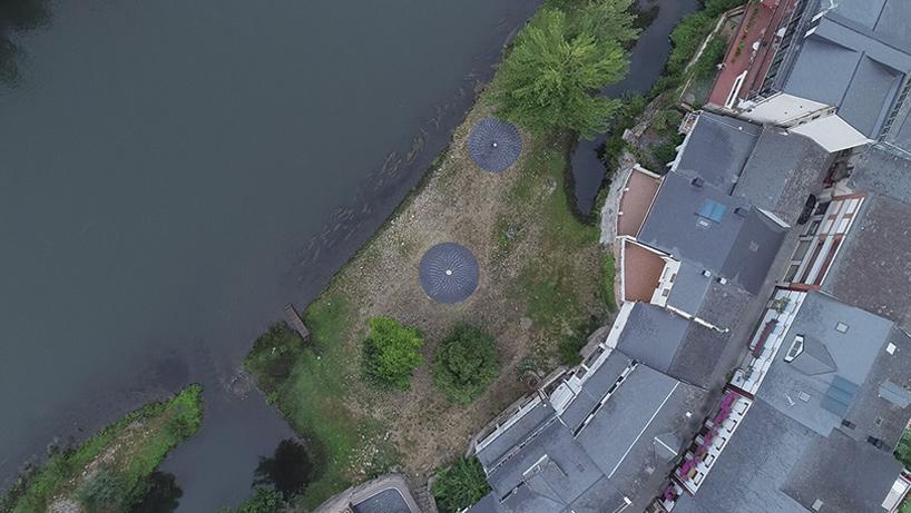 Vista-desde-un-dron-de-los-Círculos-de-Piedra.