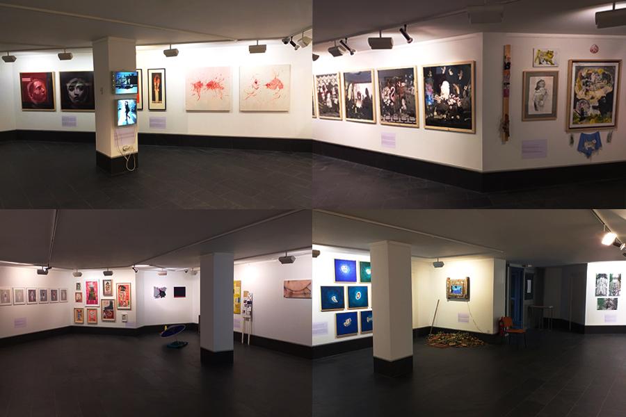 Exposición colectiva Las vidas humanas en la Sala de exposiciones de Abanca
