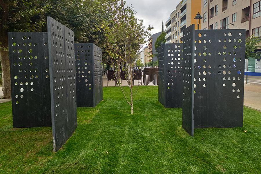 Instalación permanente Vieiros de Jorge Barredo